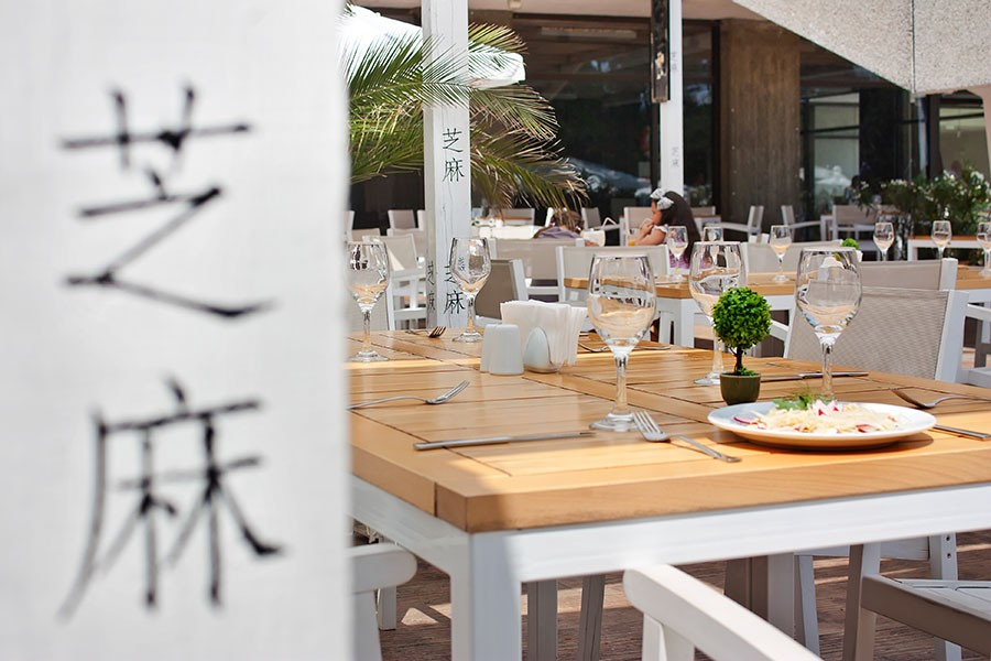 Фотозаснемане на ресторант Сусам