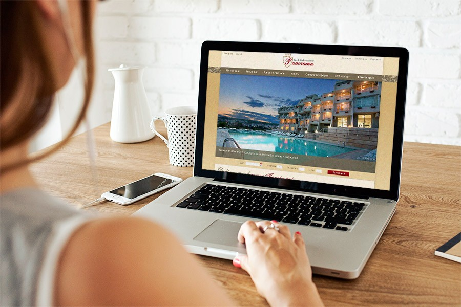 Уеб сайт на хотел Панорама