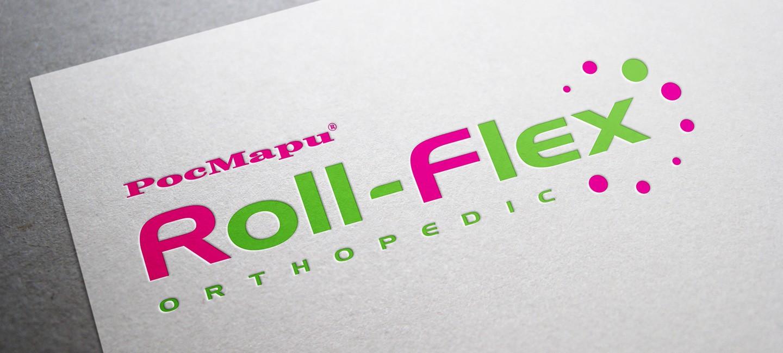 Лого дизайн на РосМари Roll-Flex