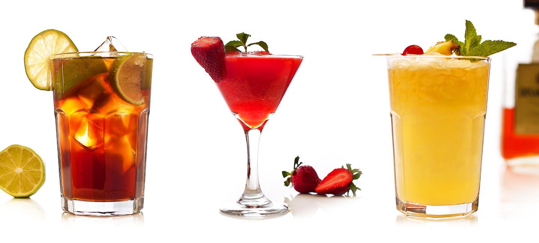 Кулинарна фотография - екзотични коктейли