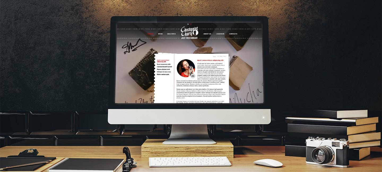 Уеб сайт на ресторант Чекпойнт Чарли