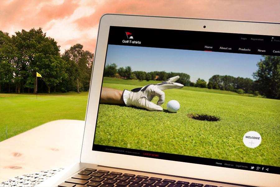 Онлайн магазин на Golf -T-shirts