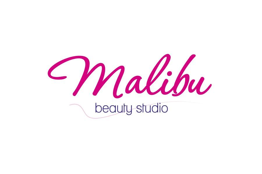 Лого на студио за красота Малибу
