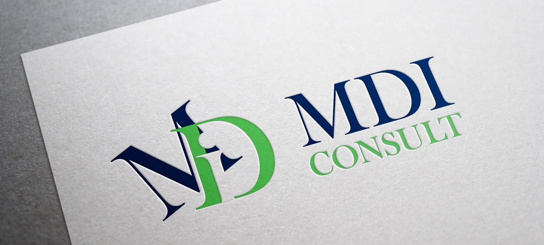 Лого дизайн на МДИ Консултинг