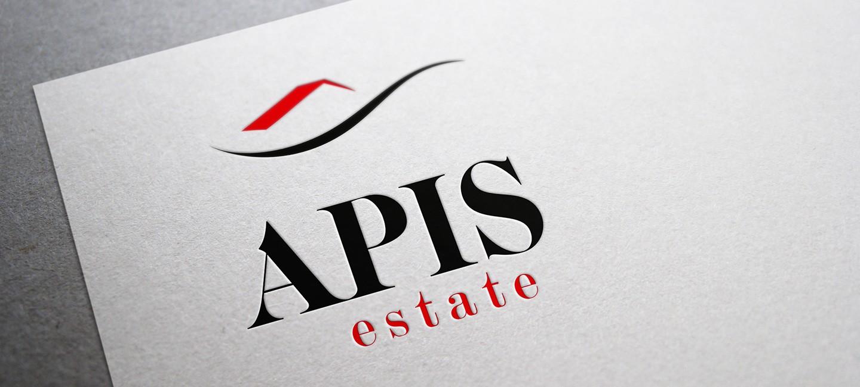 Лого дизайн на Апис Естейт