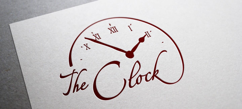 Лого дизайн на ресторант Часовника