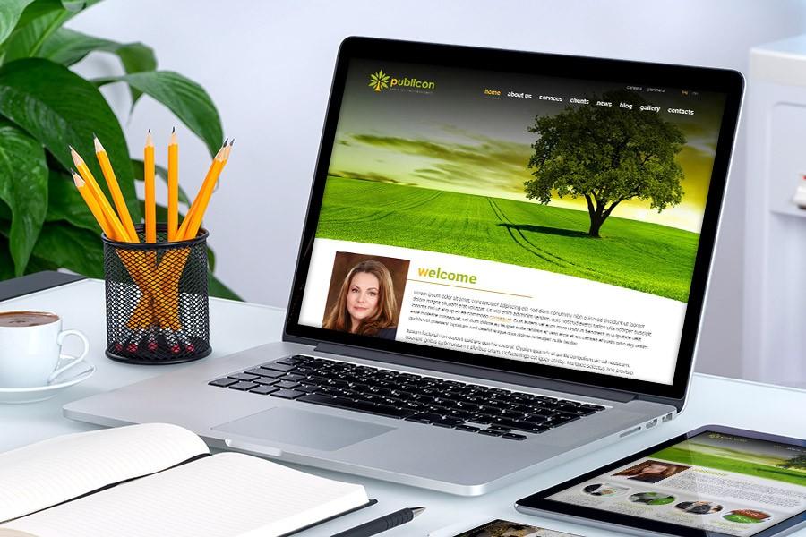 Уеб сайт на Публикон
