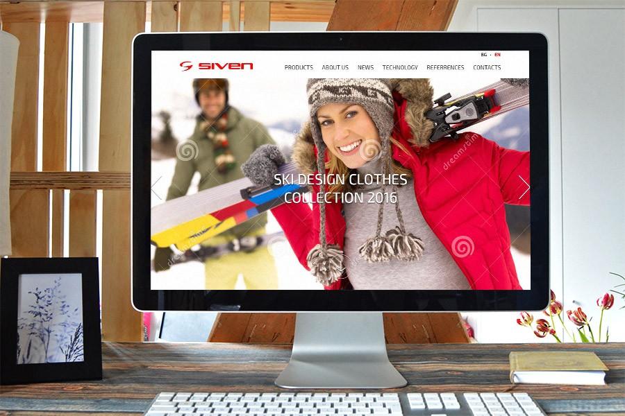 Уеб сайт на Сивен