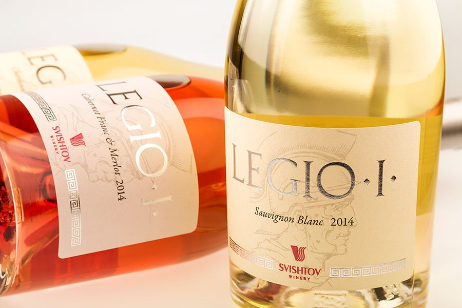 Продуктова фотография на вино Legio I