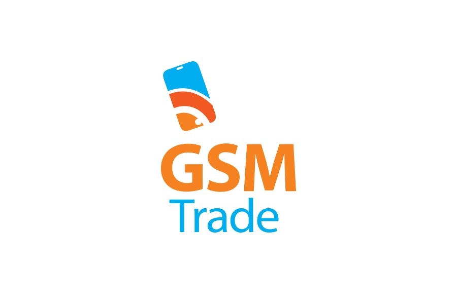 Лого дизайн на онлайн магазин за мобилни телефони Джи Ес Ем Трейд