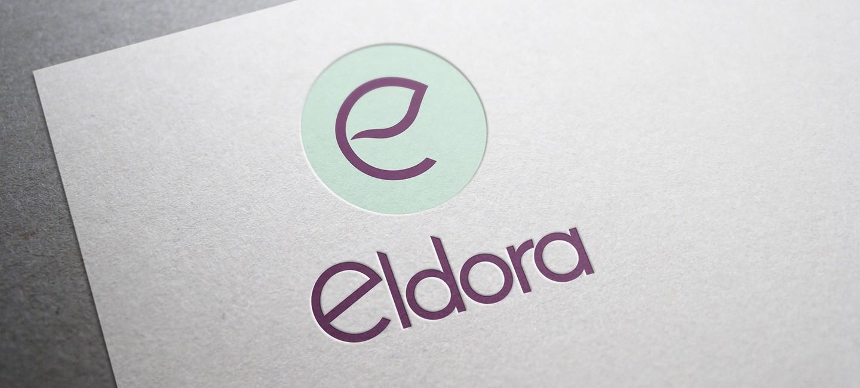 Лого дизайн на онлайн магазин за козметика Елдора