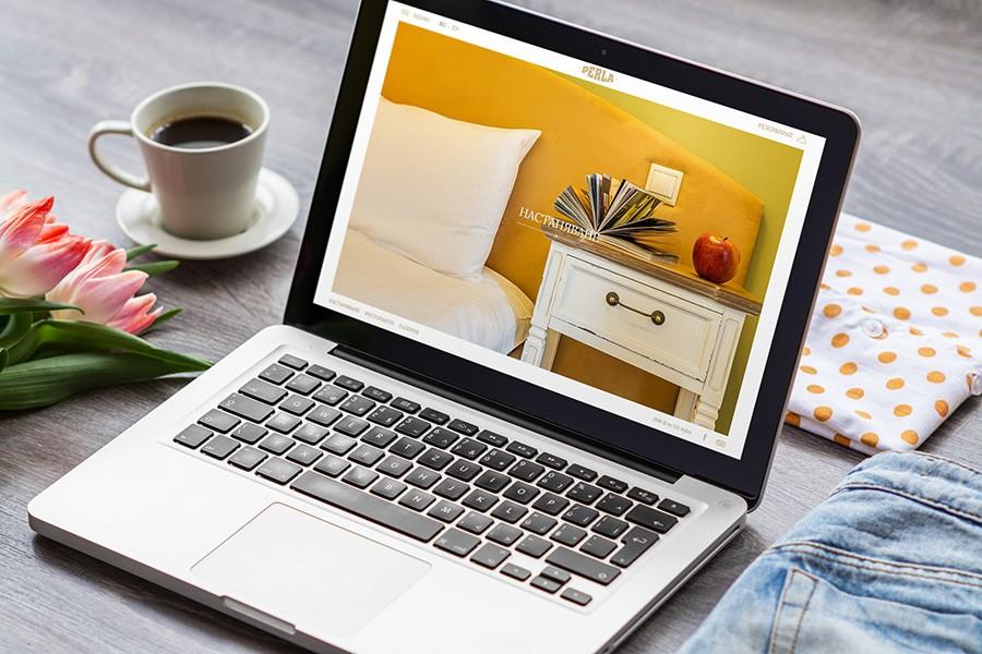 Уеб сайт на хотел Перла