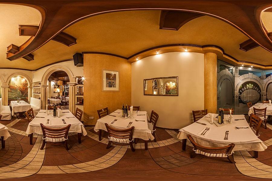 360° панорама на ресторант Римини