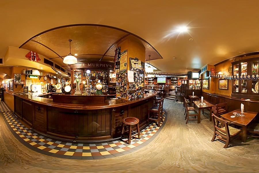 Виртуален тур на Джей Джей Мърфис ирландски пъб