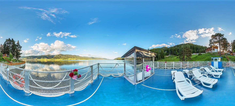 Виртуален тур на кораб Романтика