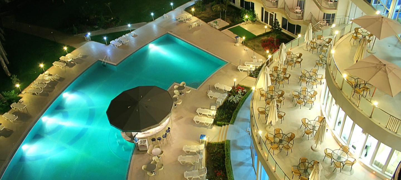 Интериорна фотография на хотел Аква Азур