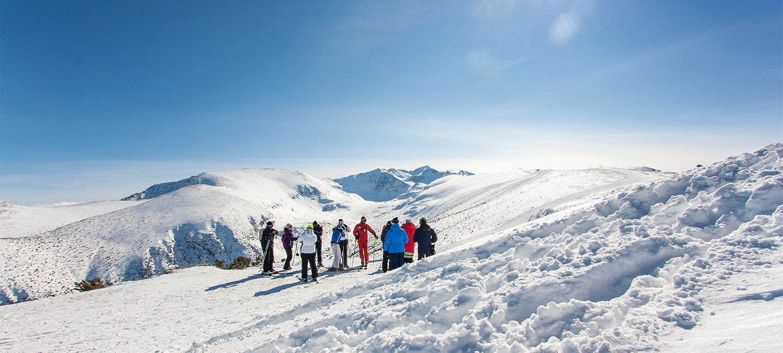 Фотозаснемане на зимни курорти и ски писти