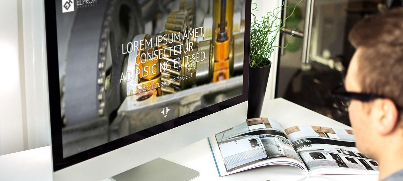 Уеб сайт на Елпром Харманли