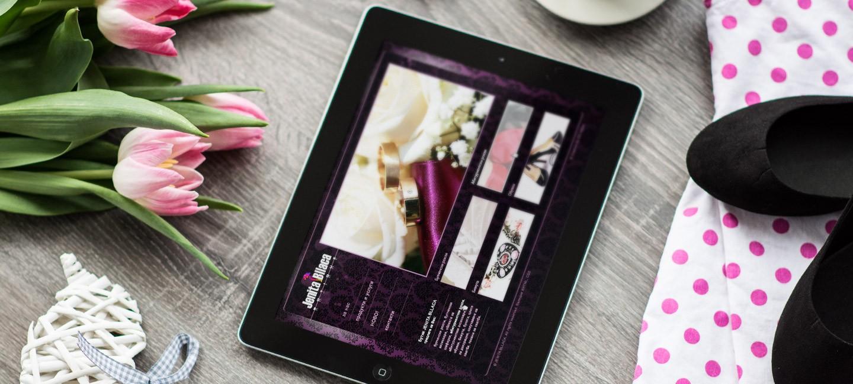 Уеб сайт на Дженита Блаца