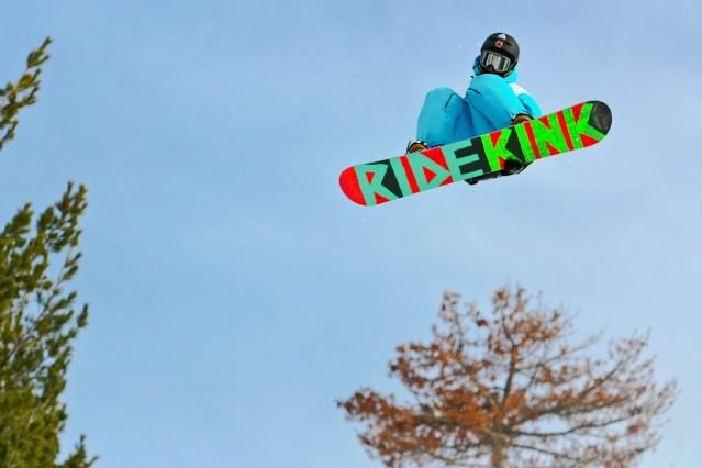 Рекламна фотография на сноу парк Боровец