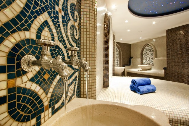 Интериорна фотография на хотел Астера Банско