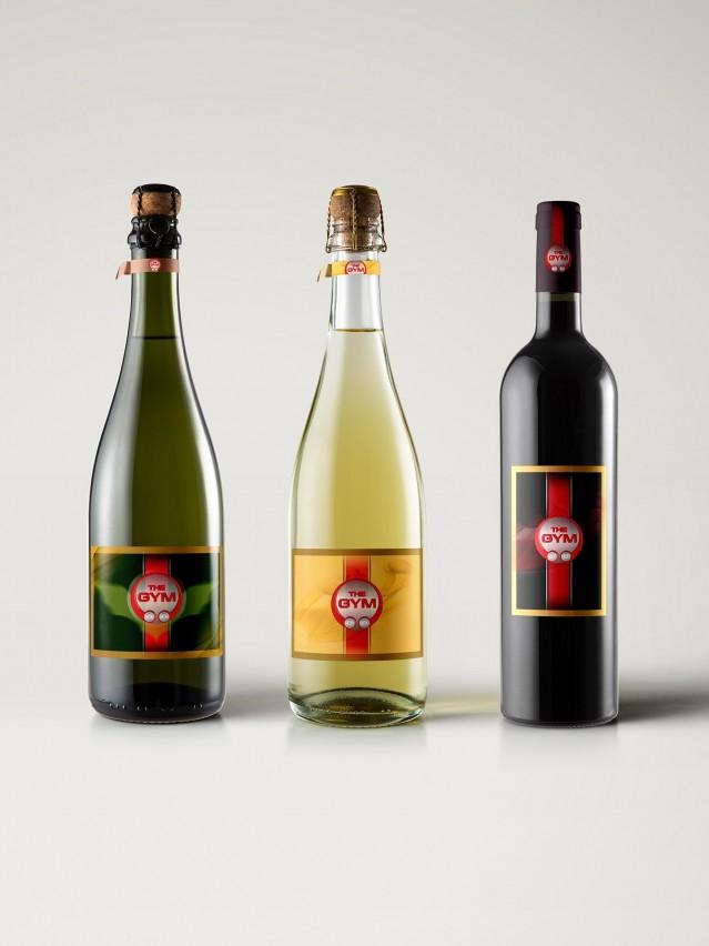 Етикети за вино на финтес център The GIM