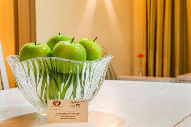Интериорна фотография на хотел Корал