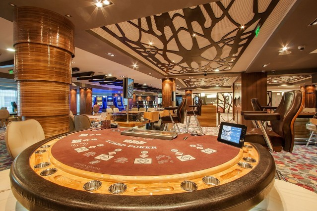 Фотозаснемане на казино Интернационал