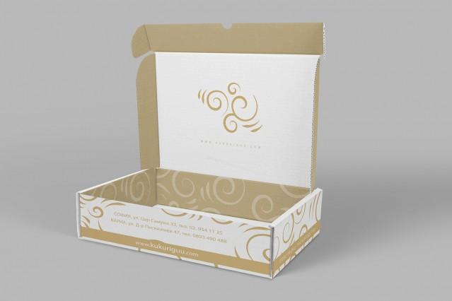 Визитки и опаковъчни кутии на Кукуригу