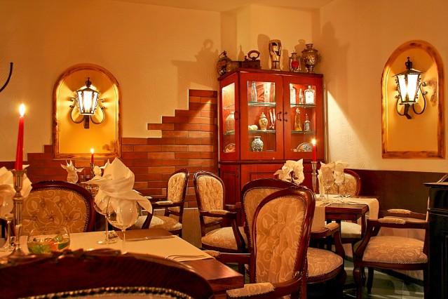 Интериорна фотография на Моцарела бар