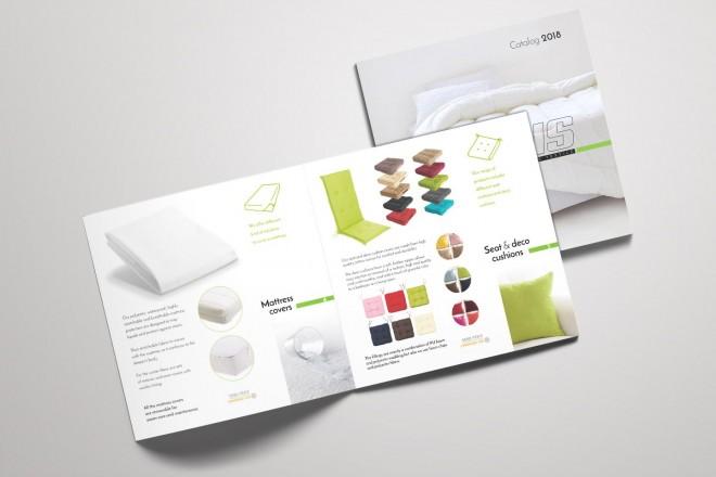 Дизайн на каталог Enris